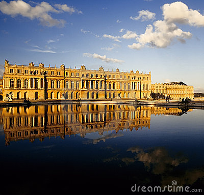 Free Palace Of Versailles Stock Photography - 1610672