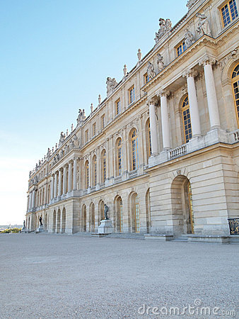 Free Palace Of Versailles Landscape Vertical Stock Photos - 16510713