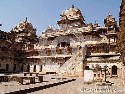 Palace in Orcha, Madhya Pradesh