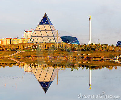 Palace of Peace and Reconciliation in Astana