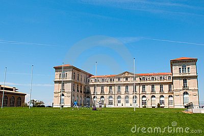 Palace Pharo in Marseille Editorial Stock Photo