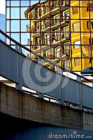 Palace reflected