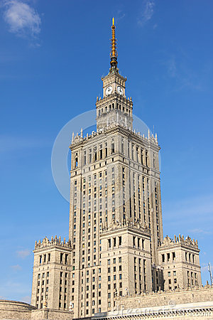 Palace of Science and Culture. Warsaw. Poland