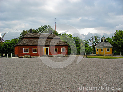 Palace in Skansen park