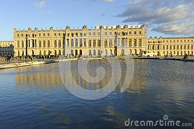 Palace of Versailles Editorial Stock Image