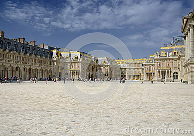 Palace of Versailles, Paris Editorial Image