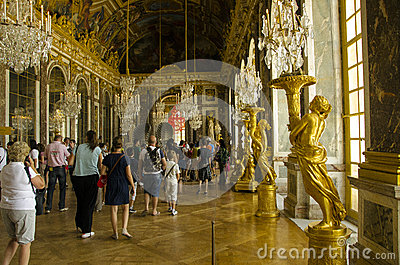 Palace of Versailles, Paris Editorial Stock Photo