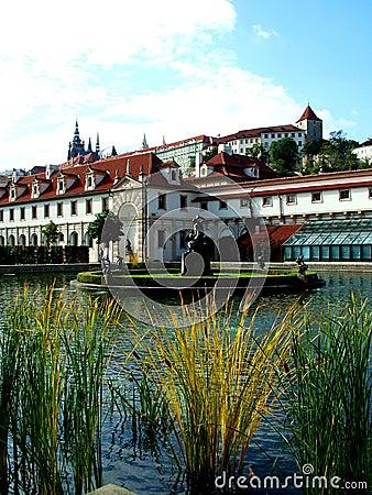 Free Palace Waldstein2 Stock Image - 115861