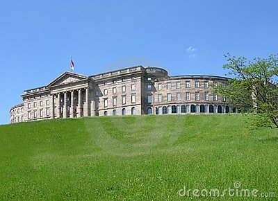 Palace Wilhelmshoehe in Kassel, Germany