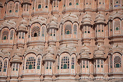 Palace of the winds or Hawa Mahal