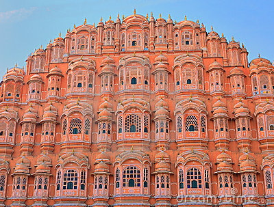 Palace of the Winds in Jaipur. India