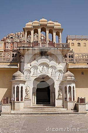 Palace of Winds, Jaipur, Rajasthan, India.