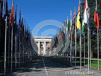 Palacio de Naciones Unidas, Ginebra, Suiza