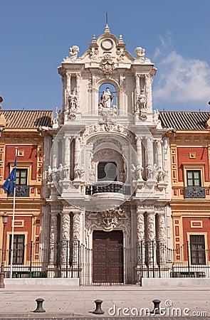 Palacio de San Telmo in Seville