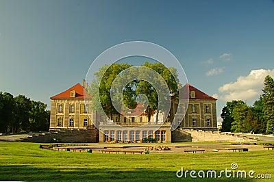 Palacio ducal en Zagan.