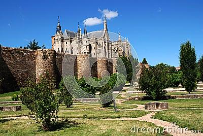 Palacio Episcopal de Gaudi in Astorga