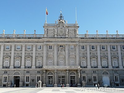 Palacio Real in Madrid, Spain