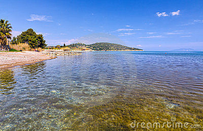 Palaia Epidaurus beach, Argolis, Greece