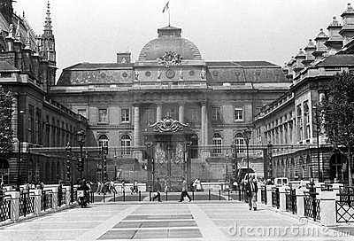 Palais de Justice, Paris Editorial Stock Photo