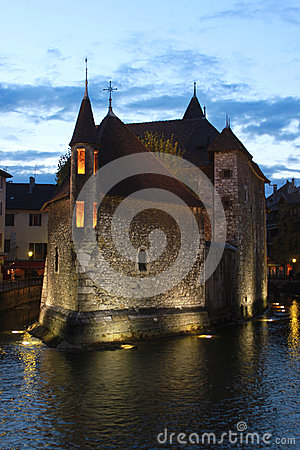 Palais de l Isle in Annecy, France