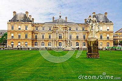 Palais de Luxembourg, Paris Editorial Image