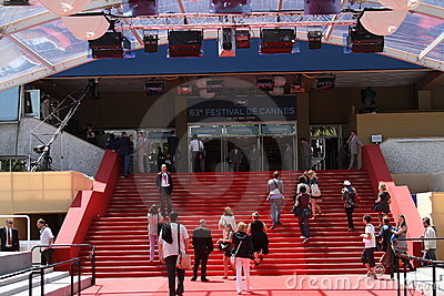 Palais des Festivals. Red carpet Editorial Photography