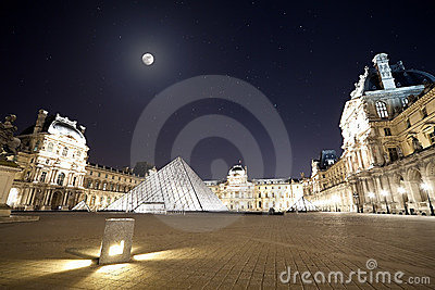 Palais du Louvre Editorial Stock Photo