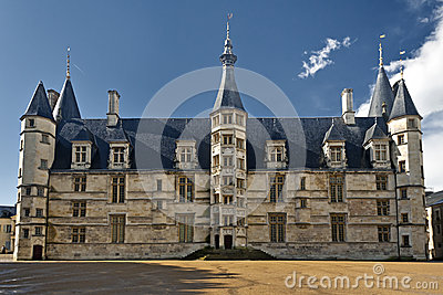 Palais Ducal from Nevers, France