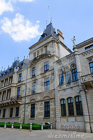 Palais Grand-Ducal in the City of Luxembourg