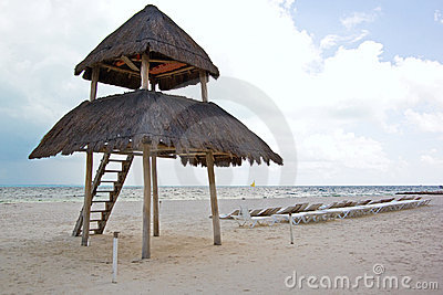 Palapa παραλιών cancun