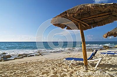 Palapa and Beach Chair