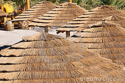 Palapa Huts