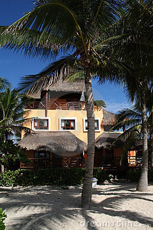 Palapa in Playa del Carmen - Mexico