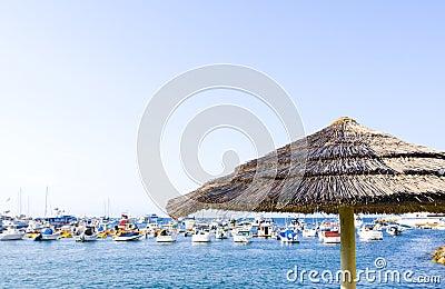 Palapa and Yachts