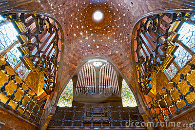 Palau Guell Barcelona Spain Stock Images Image 23376504