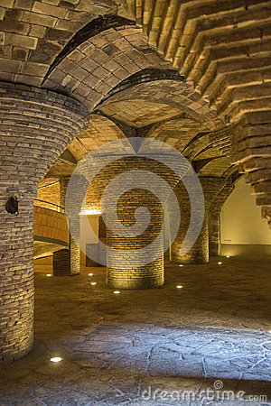 Palau Guell - Barcelona - Spain Editorial Image