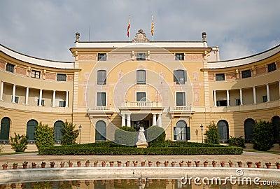 Palau Reial de Pedralbes, Barcelona