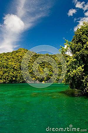 Palau shoreline