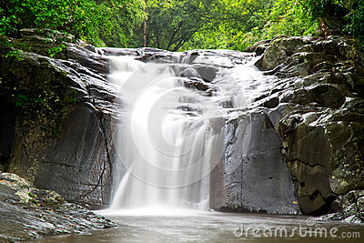 PaLaU Waterfall in the national park