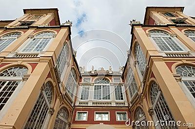 Palazzo architecture in Genoa