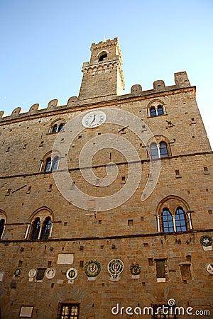 Palazzo dei Priori in Volterra (Tuscany, Italy)