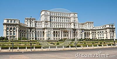 Palazzo del parlamento bucarest romania immagini stock for Immagini del parlamento