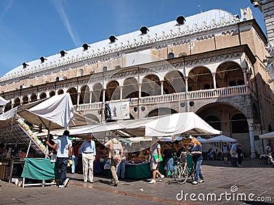 Palazzo della Ragione, Padua, Italy Editorial Photo