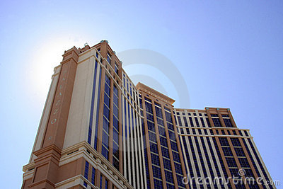 Palazzo Hotel Editorial Stock Photo