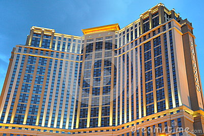 Palazzo Hotel and Casino Resort in Las Vegas Editorial Photo