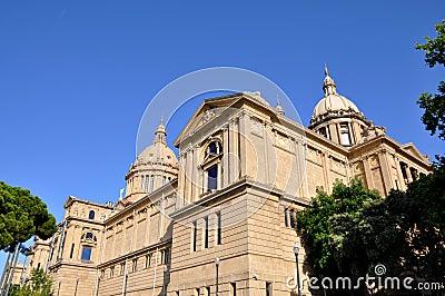 Palazzo nazionale a Barcellona