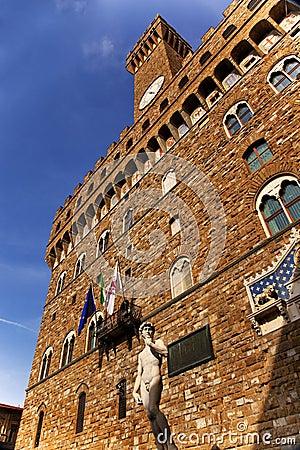 Free Palazzo Vecchio David Statue Florence Stock Photo - 16325380