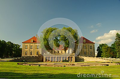 Palácio ducal em Zagan.