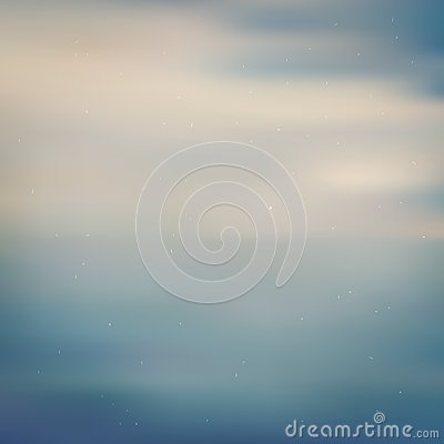 Pale dust sea blurred background