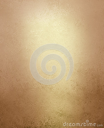 Free Pale Gold And Brown Background With Vintage Grunge Distressed Texture Stock Images - 83719934
